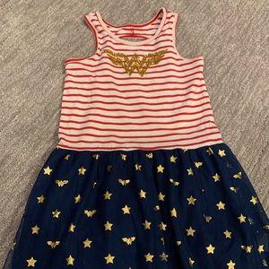 Gap Kids Wonder Woman girls dress